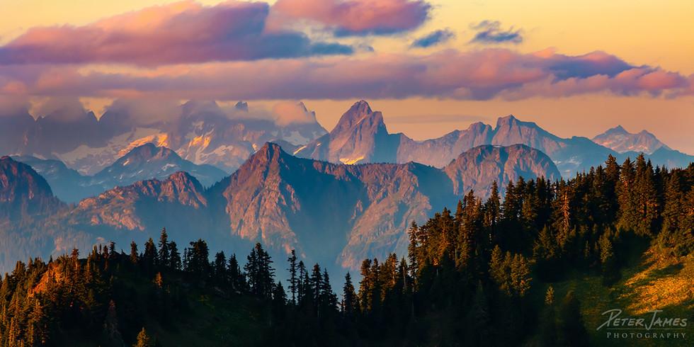 Soft Light on the North Cascades