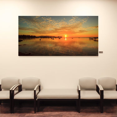 Large Wall Art for Medical Facilities