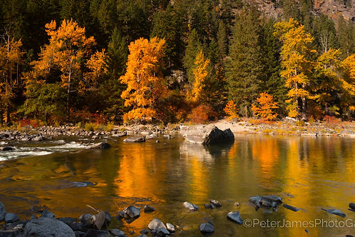 Autumn on the Wenatchee River