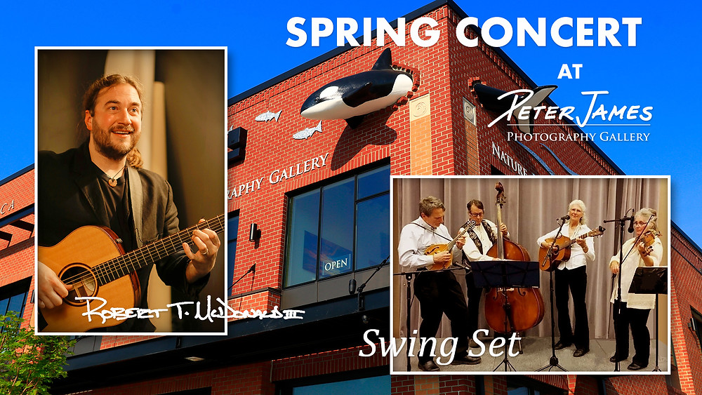 Spring Concert at Peter James Nature Photography Gallery