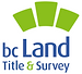 Logo of the Land Title and Survey Authority of BC.