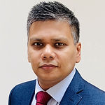 Headshot of Arindam Chaudhuri, Mortgage Practice Lead at Tata Consultancy Services.