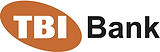 This is the logo of TBI Bank. TBI Bank is a fully licensed consumer and SME focused bank operating in Bulgaria and Romania. TBI Bank is owned by TBIF Financial Services, a 4finance Holding company.