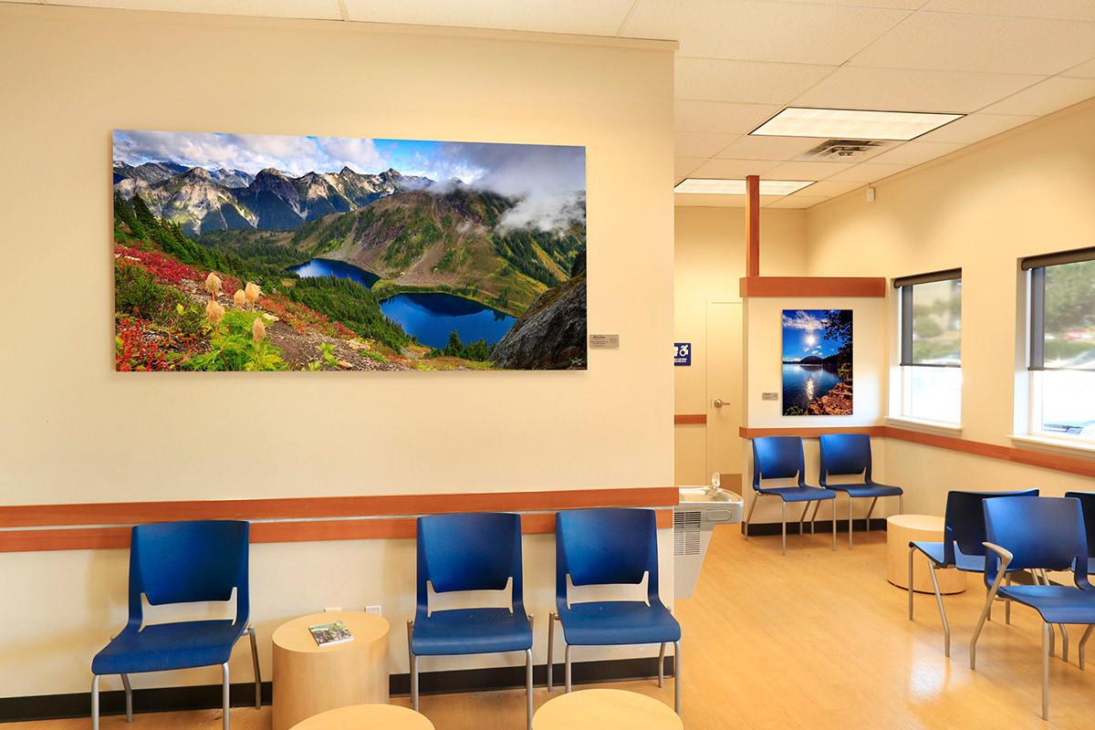 Hospital Art for Waiting Room