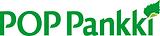 Logo of POP Pankki, a Finnish bank belonging to the POP Bank Alliance Group.
