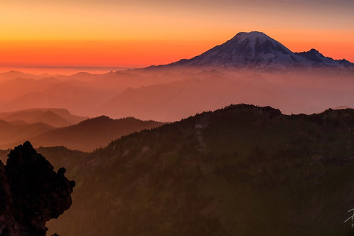 Mount Rainier Reigns On High