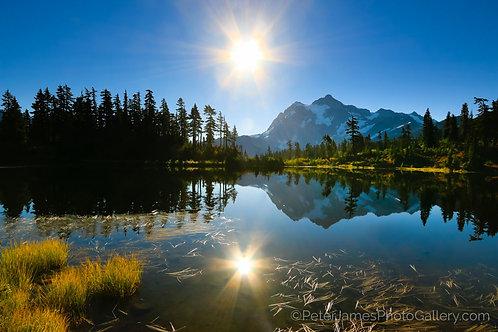 Mt. Shuksan Above Sunny Picture Lake