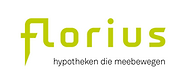 This is the logo of Florius, a brand of ABN AMRO offering residential mortgage products.