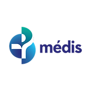 This is the logo of Médis, a Portuguese health insurance company offering protection to individuals in each stage of their lives.