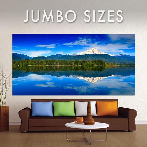 Jumbo Sized Wall Art Metal Prints