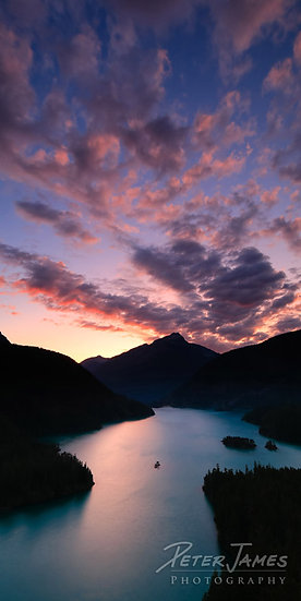 Diablo Lake Dusk