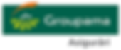 This is the logo of Groupama Asigurari, a company offering insurance products and services to private individuals and companies in Romania.