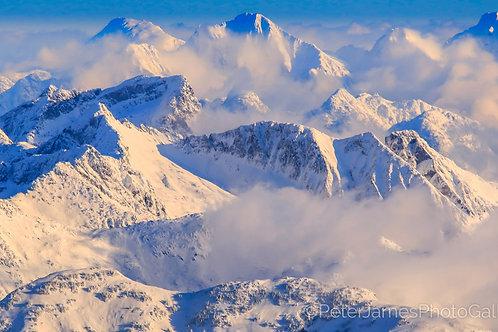 Fresh Snow On The North Cascades