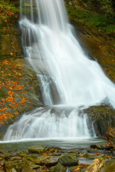 Racehorse Falls in Autumn