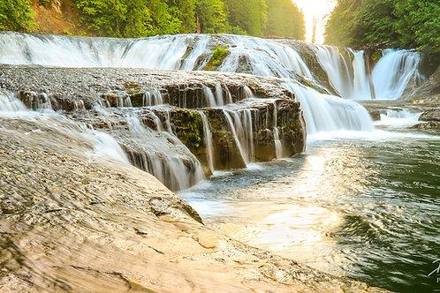 Upper Falls At Dawn