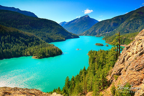 Mid Day Turquoise of Diablo Lake