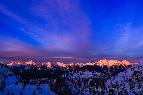 North Cascade Mountains Aglow