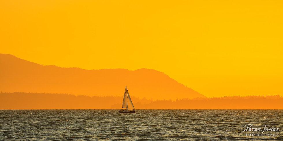 Summer Sailing on Bellingham Bay
