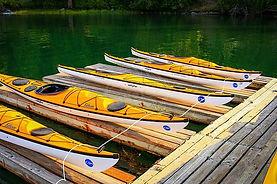 Kayaks i Bellingham Stock Photo