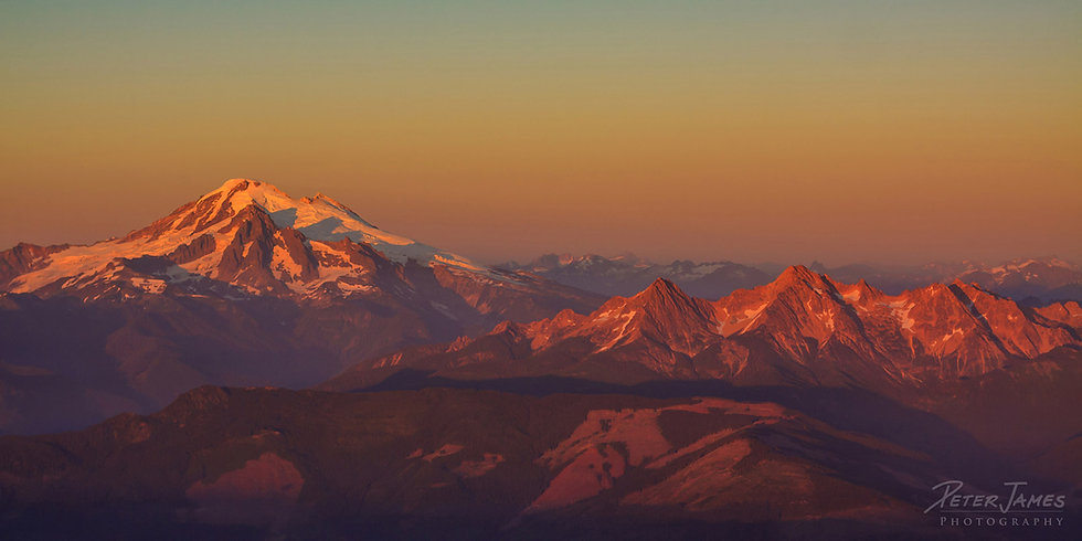 $110 - Mount Baker Alpenglow
