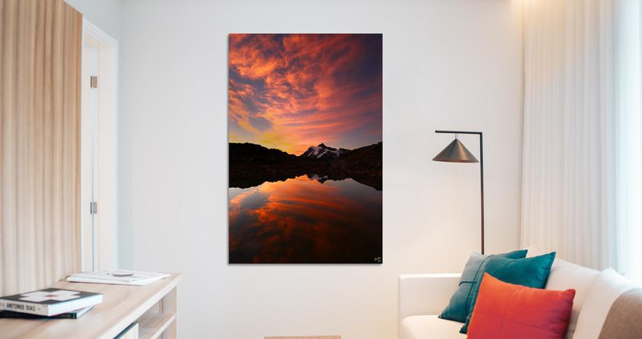 Fine Art centerpiece for livingroom