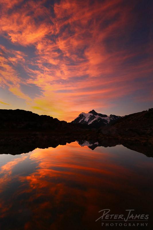 Mount Shuksan Artist's Point Sunrise