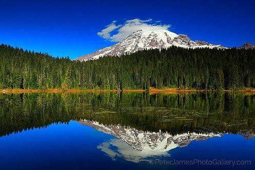 Mount Rainier Lakeside Afternoon