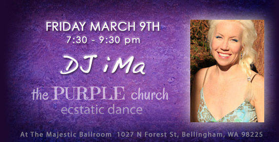 Bellingham Whatcom County Ecstatic Dance DJ