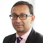 Headshot of Somesh Chandra, Chief Health Officer European Markets at AXA.
