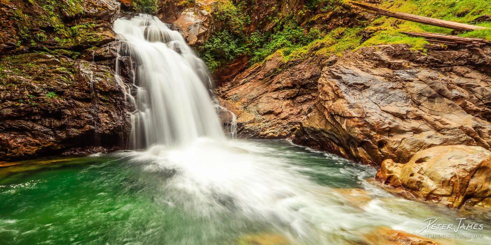 Rushing North Fork Sauk Falls