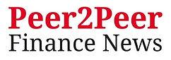 This is the logo of Peer2Peer Finance News, the UK's first peer-to-peer finance magazine.