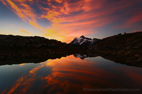 Artist's Point Sunrise with Mount Shuksan