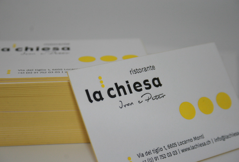 Biglietti da visita Letterpress