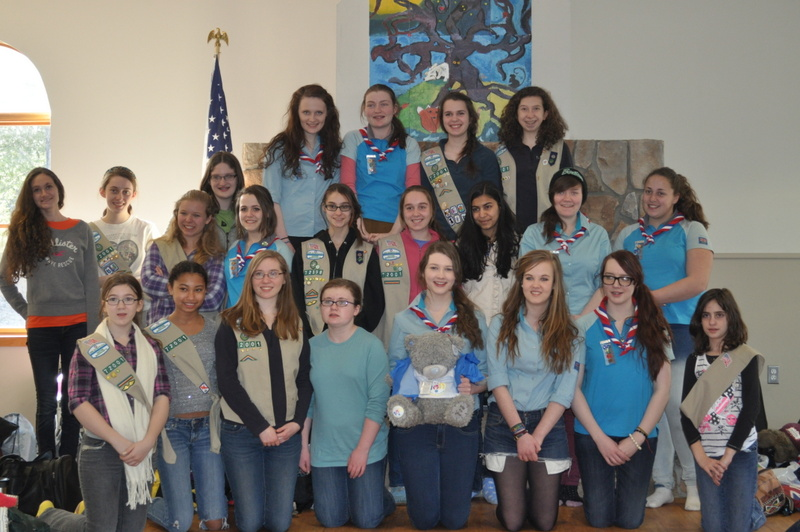 202nd Rangers meet Girl Scouts