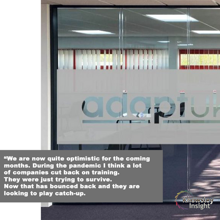 BEHIND THE DOORS: Adapt (UK) Training Services – Creating opportunities
