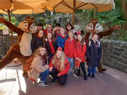 NE Division visit Disneyland Paris