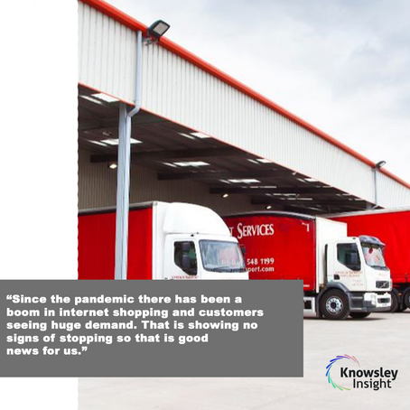 SECTOR FOCUS – Knowsley logistics specialists show their resilience