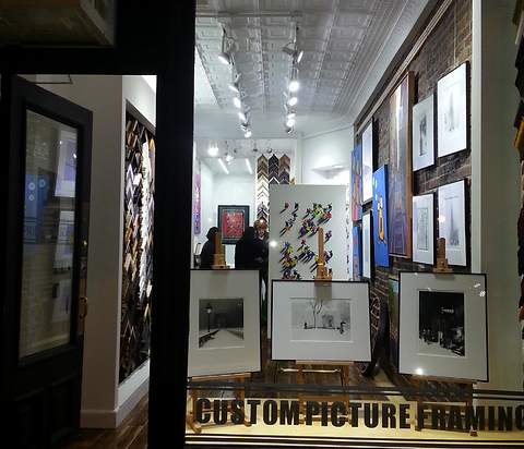 Soho Art Gallery | 1 hour custom picture framing NYC | Contact Us