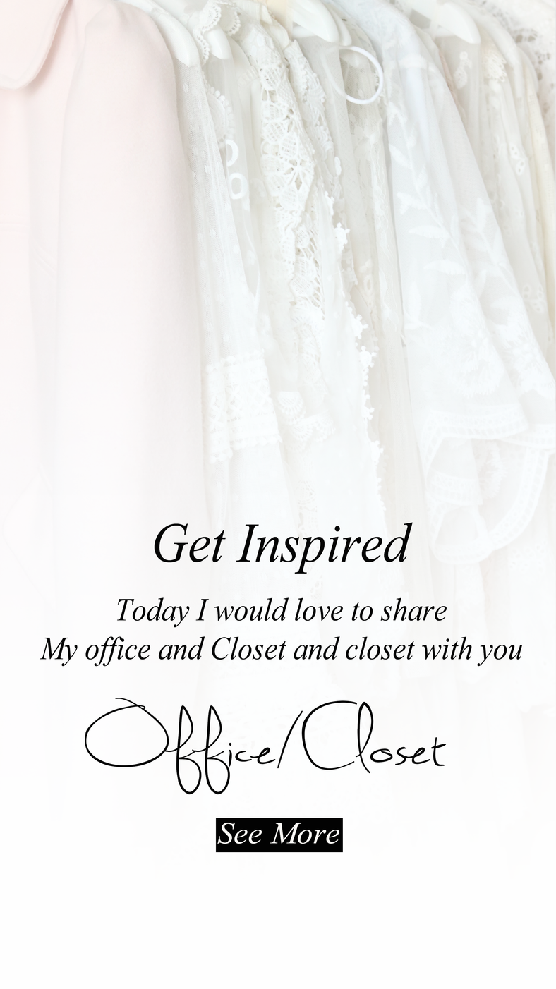 My Office and Closet Tour..