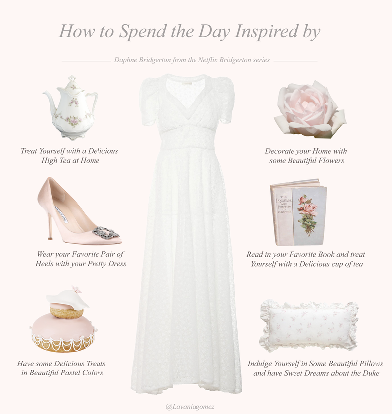How to Spend the Day Inspired by Daphne Bridgerton..