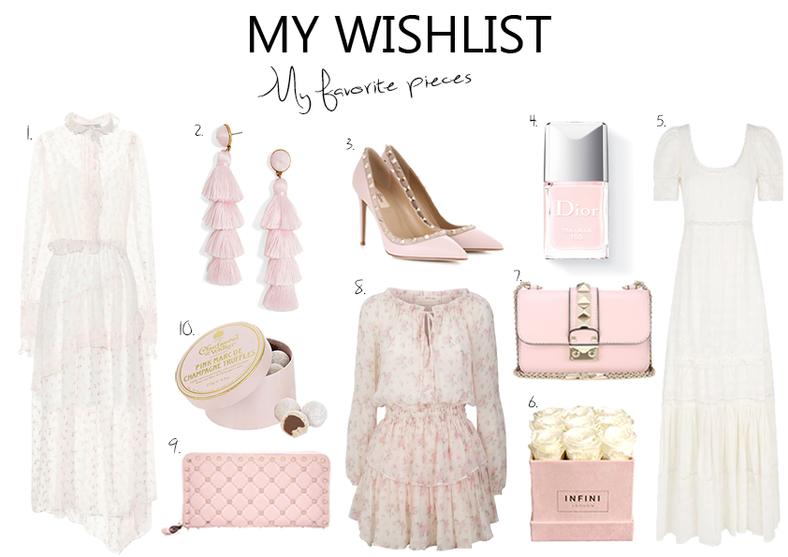 My Wishlist Romantic Pieces..