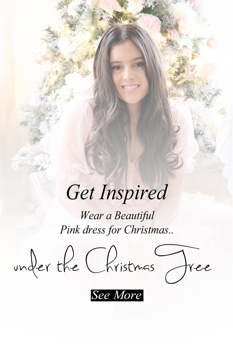 Underneath the Pink Christmas Tree..