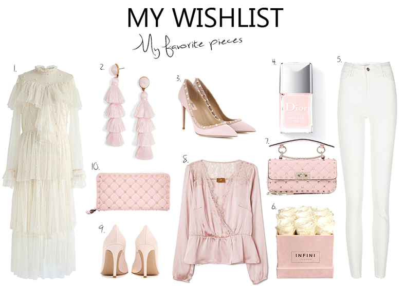 My Wishlist Pastel colors for Spring..