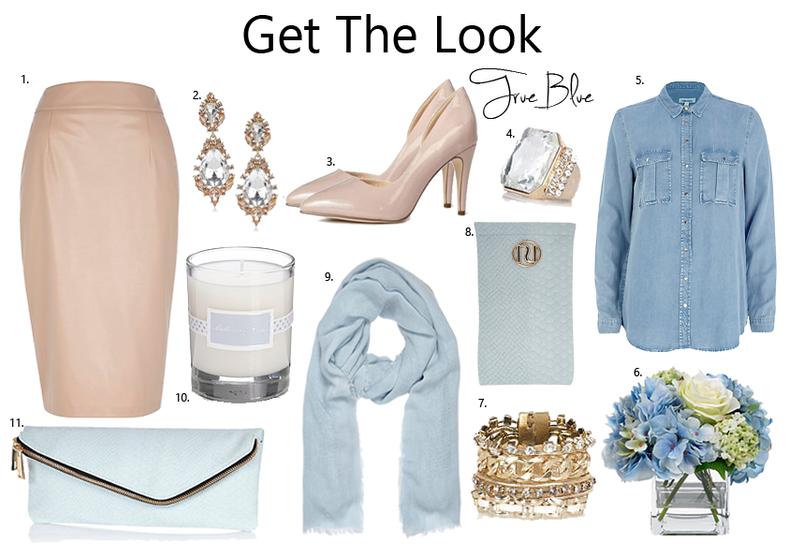 Get the Look True Blue