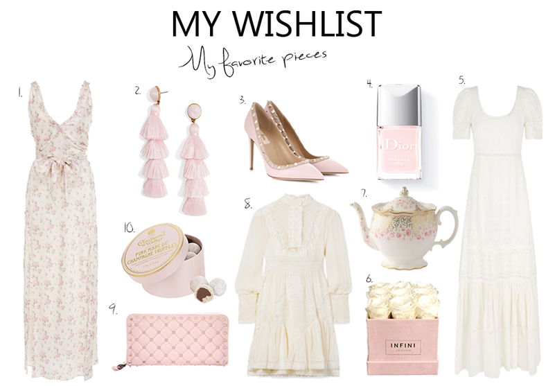 My Wishlist Pretty Pieces for Summer..