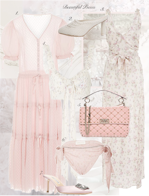 My Shopping Wishlist Floral Pieces..