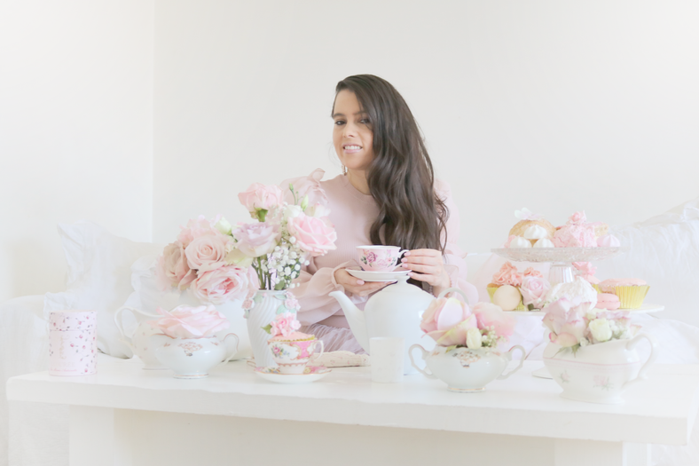 The most adorable high tea for Spring.