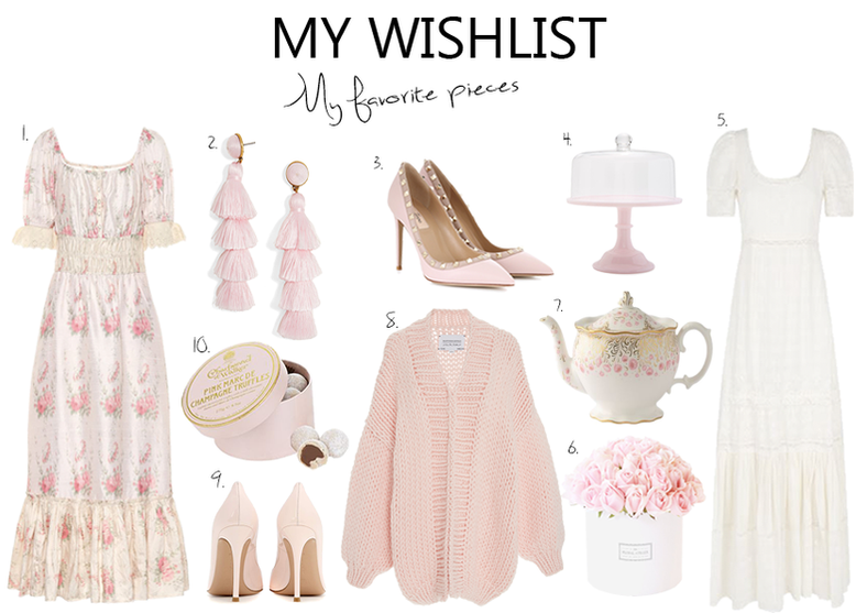 My Wishlist Cozy Pink Pieces..