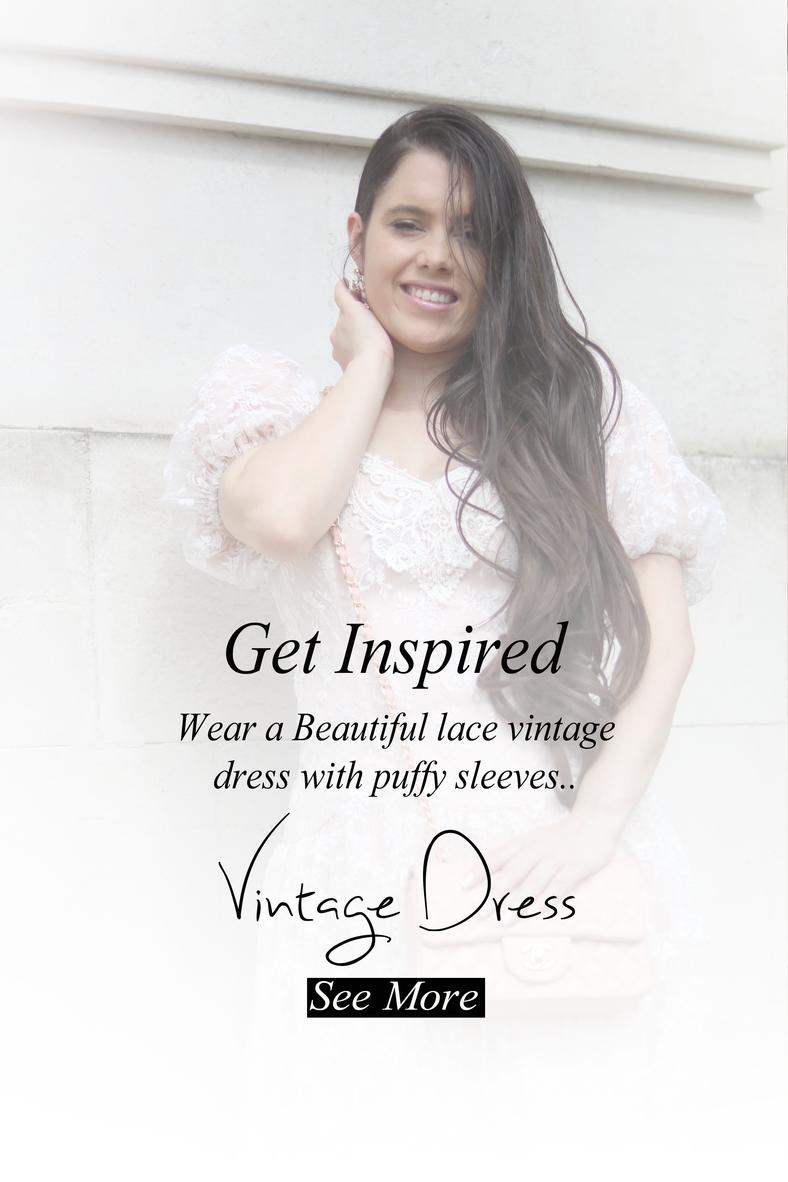 Vintage Lace Dress..