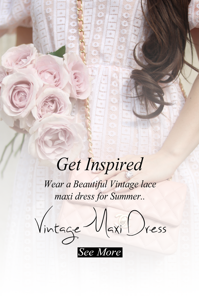 WHERE TO FIND THE MOST BEAUTIFUL VINTAGE DRESSES FOR SUMMER..